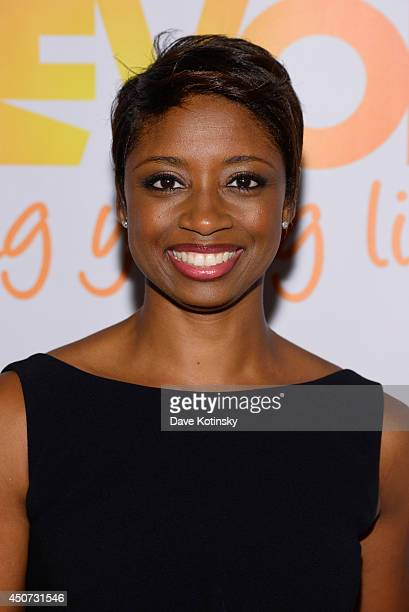 Actress singer Montego Glover attends the Trevor Project's 2014 'TrevorLIVE NY' Event at the Marriott Marquis Hotel on June 16 2014 in New York City