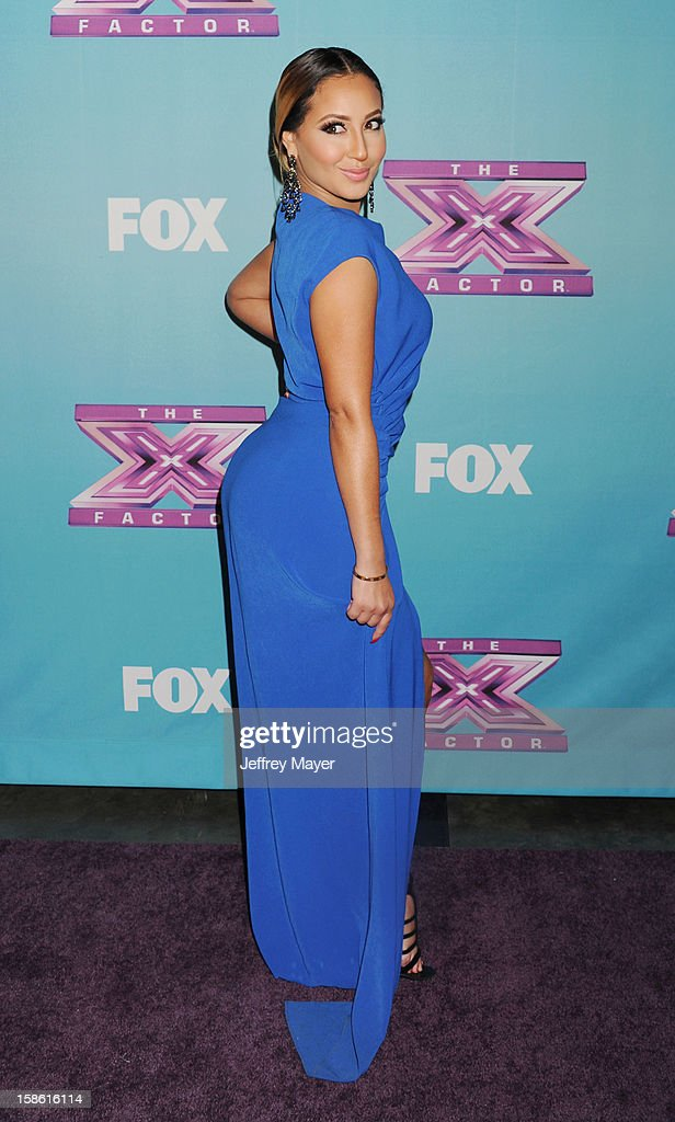 Actress, singer/songwriter, dancer Adriennne Bailon attends the FOX's 'The X Factor' Season Finale - Night 2 at CBS Television City on December 20, 2012 in Los Angeles, California.