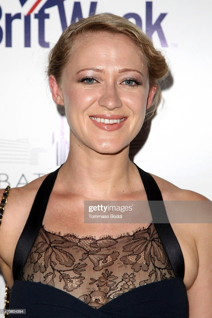 Actress Siobhan Hewlett attends the BritWeek 2015 9th annual Brit Week red carpet launch at British Consul Generals Residence on April 21 2015 in Los...