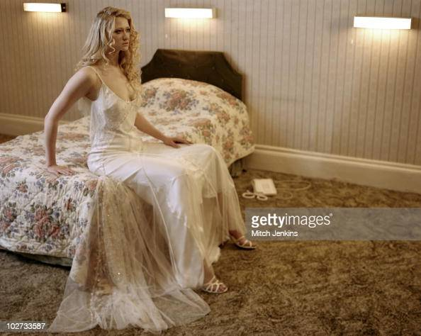Actress Siobhan Hewlett pose for a portrait shoot in London UK