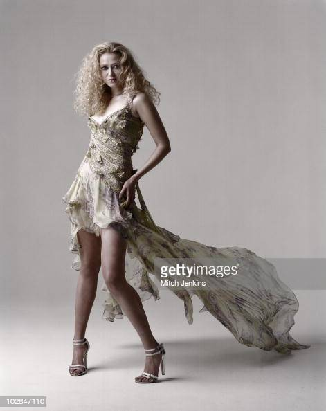 Actress Siobhan Hewlett poses for a portrait shoot on May 6 2004 in London