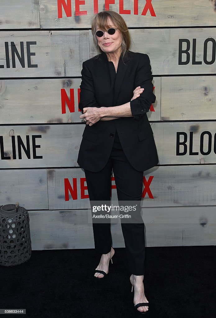 Actress Sissy Spacek arrives at the premiere of Netflix's 'Bloodline' at Landmark Regent on May 24, 2016 in Los Angeles, California.
