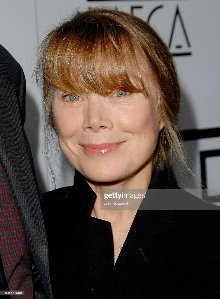 Actress <a gi-track='captionPersonalityLinkClicked' href=/galleries/search?phrase=Sissy+Spacek&family=editorial&specificpeople=212977 ng-click='$event.stopPropagation()'>Sissy Spacek</a> arrives to The 33rd Annual Los Angeles Film Critics Awards at the InterContinental Hotel on January 12, 2008 in Century City, California