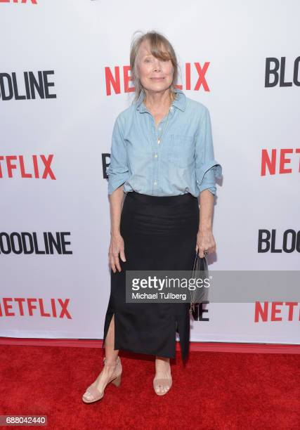 Actress Sissy Spacek attends the premiere of Netflix's 'Bloodline' Season 3 at Arclight Cinemas Culver City on May 24 2017 in Culver City California