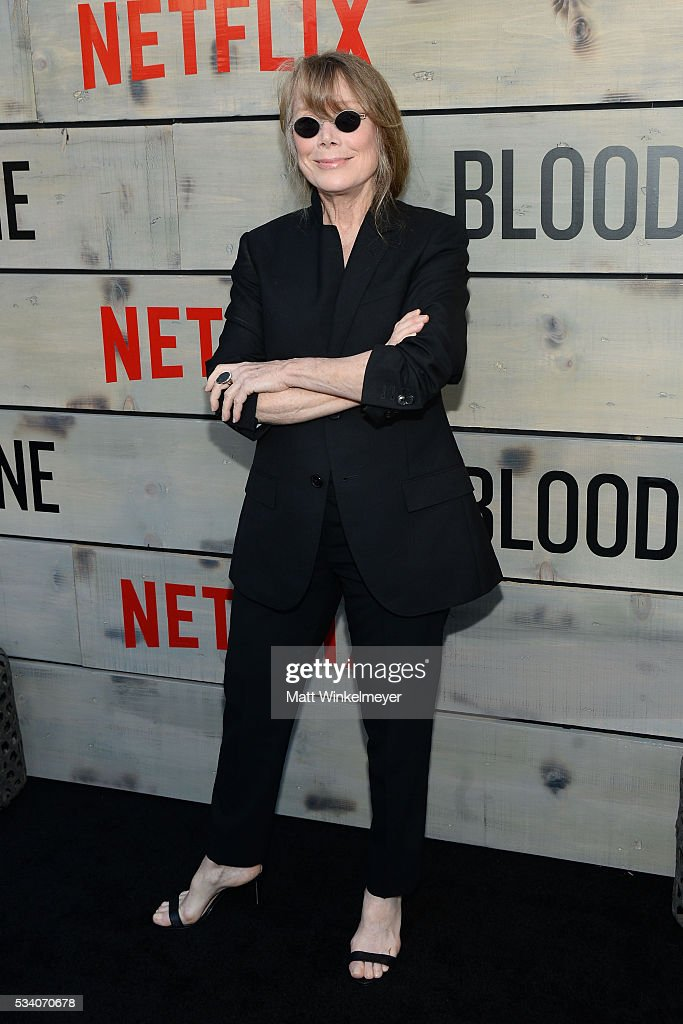 Actress <a gi-track='captionPersonalityLinkClicked' href=/galleries/search?phrase=Sissy+Spacek&family=editorial&specificpeople=212977 ng-click='$event.stopPropagation()'>Sissy Spacek</a> attends the Premiere of Netflix's 'Bloodline' at Westwood Village Theatre on May 24, 2016 in Westwood, California.