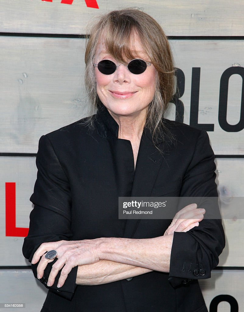 Actress Sissy Spacek attends the Premiere Of Netflix's 'Bloodline' at Landmark Regent on May 24, 2016 in Los Angeles, California.
