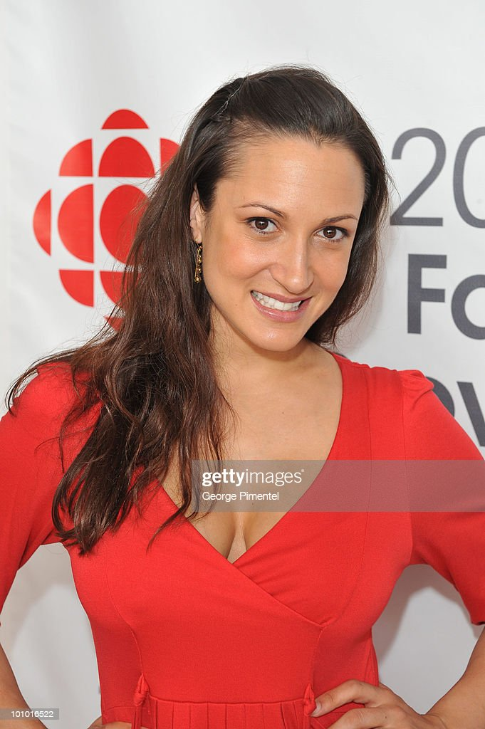 Actress Sitara Hewitt attends CBC Television 2010 Fall Preview at the CBC Broadcast Centre on May 27, 2010 in Toronto, Canada.