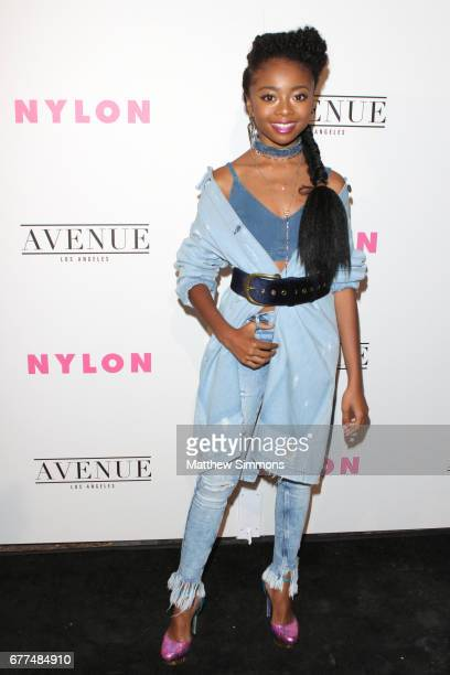 Actress Skai Jackson attends NYLON's Annual Young Hollywood May Issue Event at Avenue on May 2 2017 in Los Angeles California