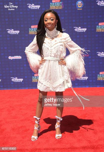 Actress Skai Jackson attends the 2017 Radio Disney Music Awards at Microsoft Theater on April 29 2017 in Los Angeles California
