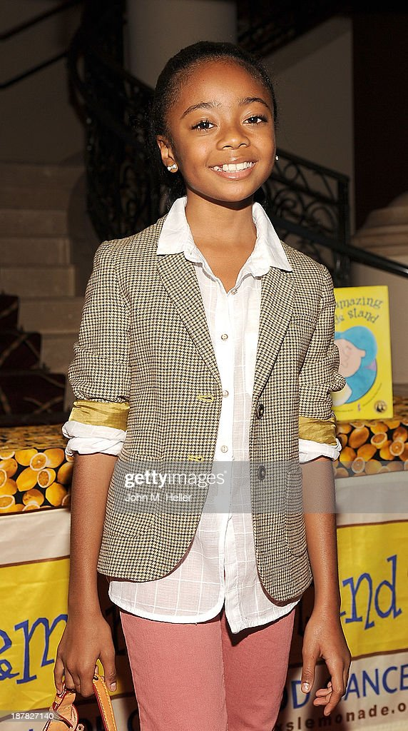 Actress Skai Jackson attends the screening of 'A Country Christmas' at the Pacific Theatre at The Grove on November 12, 2013 in Los Angeles, California.
