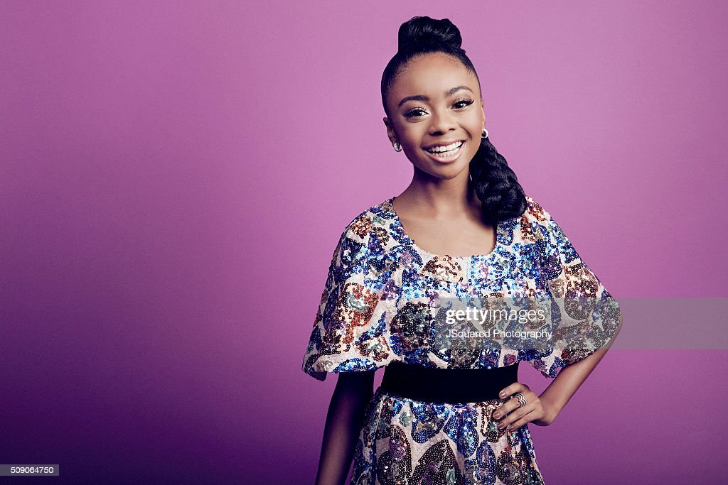 Actress <a gi-track='captionPersonalityLinkClicked' href=/galleries/search?phrase=Skai+Jackson&family=editorial&specificpeople=4145526 ng-click='$event.stopPropagation()'>Skai Jackson</a> poses for a portrait during the 47th NAACP Image Awards presented by TV One at Pasadena Civic Auditorium on February 5, 2016 in Pasadena, California.