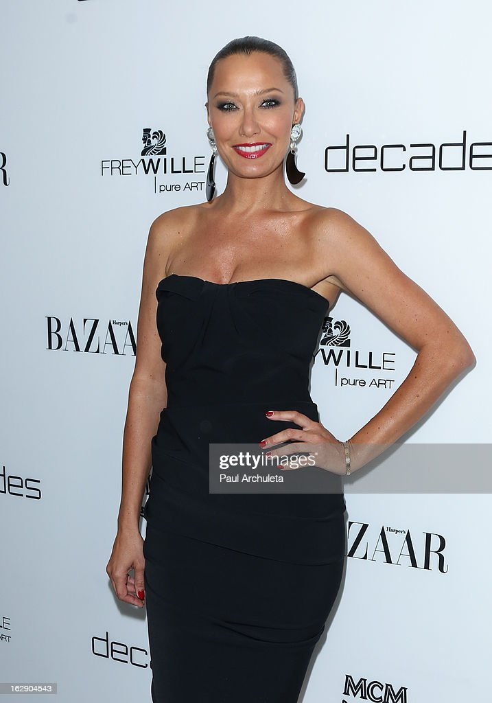 Actress Sky Nellor attends the Harper's BAZAAR celebration for the new Bravo series 'Dukes of Melrose' at The Terrace at Sunset Tower on February 28, 2013 in West Hollywood, California.