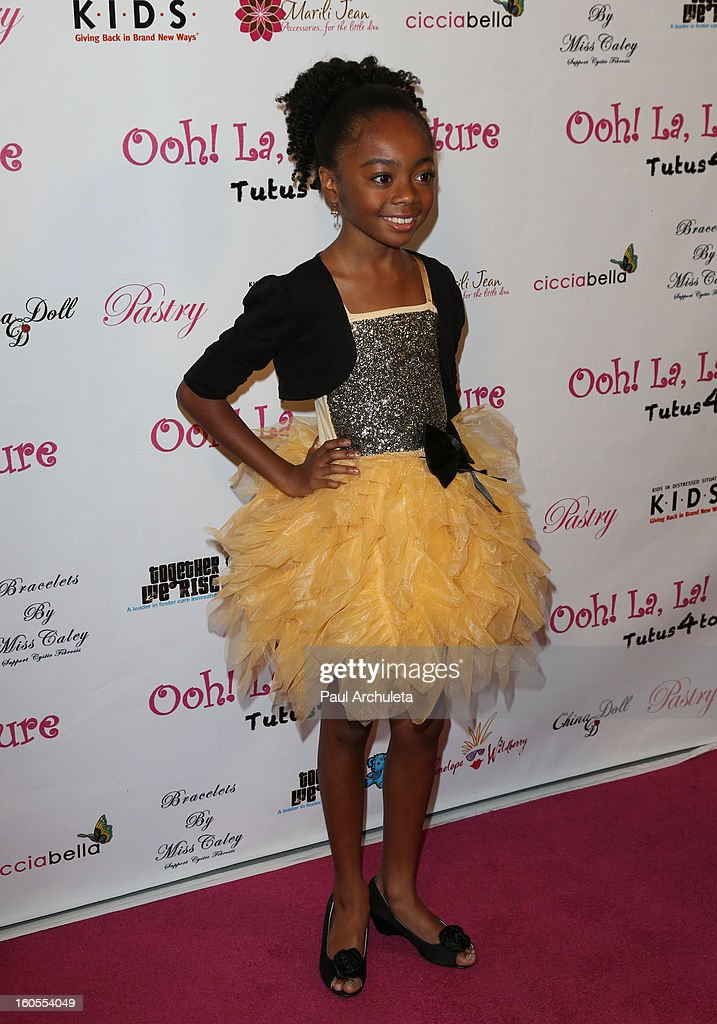 Actress Skye Jackson attends the 4th Annual Tutus4Tots charity event on February 2, 2013 in Chino, California.
