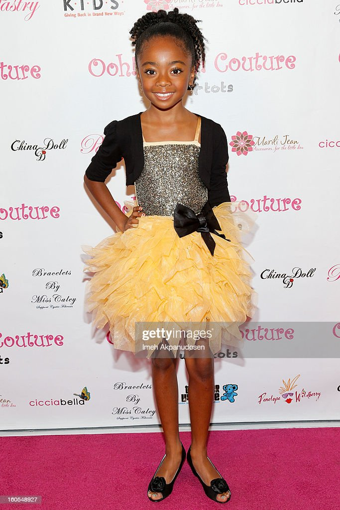 Actress Skye Jackson attends the 4th Annual Tutus4Tots Event at Together We Rise on February 2, 2013 in Chino, California.