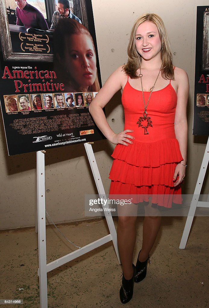 Actress Skye McCole Bartusiak attends world premiere of 'American Primitive' during the 20th Annual Palms Springs International Film Festival held at...