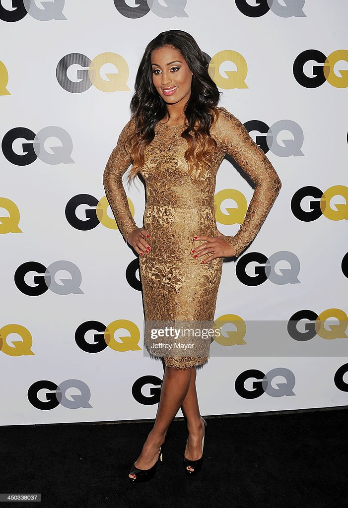 Actress <a gi-track='captionPersonalityLinkClicked' href=/galleries/search?phrase=Skylar+Diggins&family=editorial&specificpeople=5791961 ng-click='$event.stopPropagation()'>Skylar Diggins</a> arrives at the 2013 GQ Men Of The Year Party at The Ebell of Los Angeles on November 12, 2013 in Los Angeles, California.