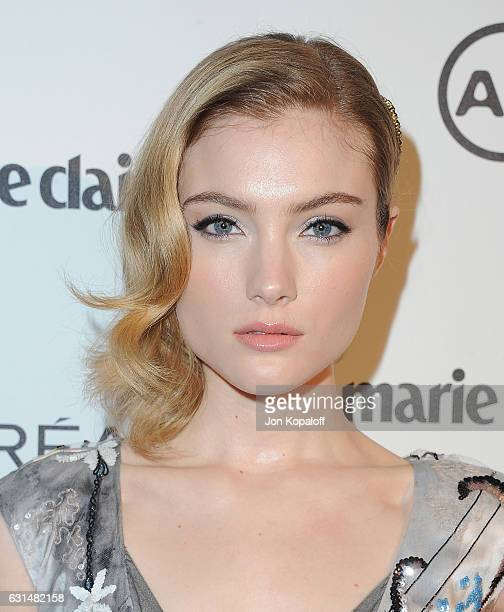 Actress Skyler Samuels arrives at Marie Claire's Image Maker Awards 2017 at Catch LA on January 10 2017 in West Hollywood California