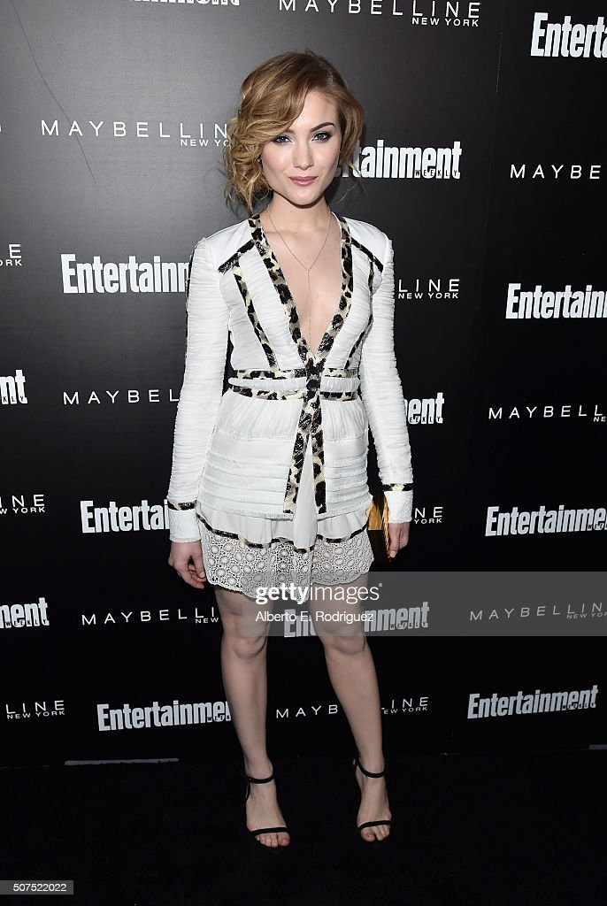 Actress Skyler Samuels attends Entertainment Weekly's celebration honoring THe Screen Actors Guild presented by Maybeline at Chateau Marmont on January 29, 2016 in Los Angeles, California.