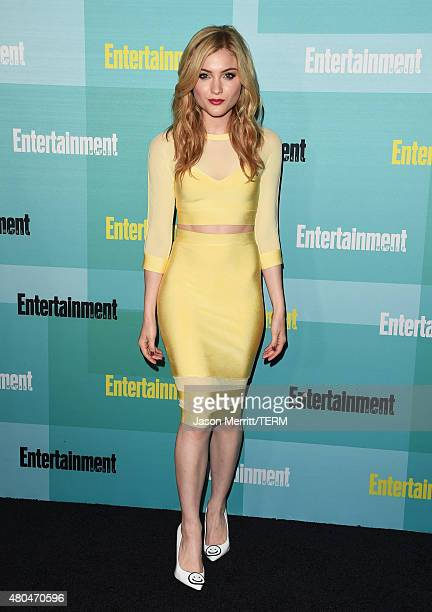 Actress Skyler Samuels attends Entertainment Weekly's ComicCon 2015 Party sponsored by HBO Honda Bud Light Lime and Bud Light Ritas at FLOAT at The...