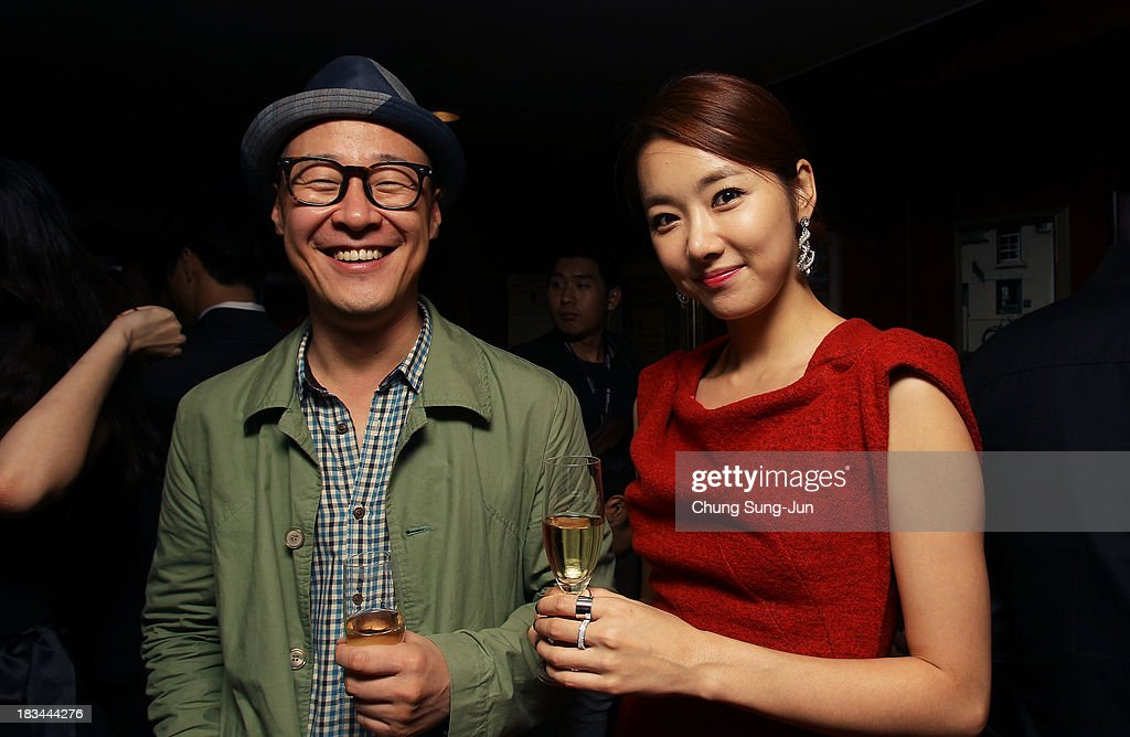 Actress So E-Hyun (R) attends the United Asian Film Night at the Chosun hotel during the 18th Busan International Film Festival (BIFF) on October 6, 2013 in Busan, South Korea. The biggest film festival in Asia showcases 299 films from 70 countries and runs from October 3-12.