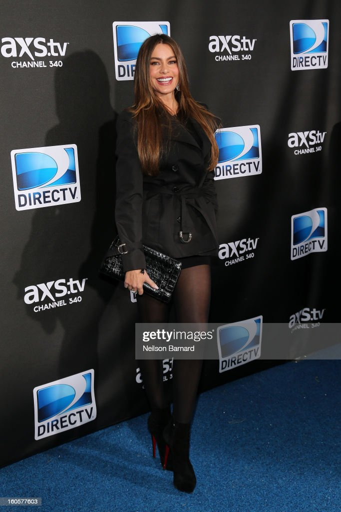 Actress Sofía Vergara attends DIRECTV Super Saturday Night Featuring Special Guest Justin Timberlake & Co-Hosted By Mark Cuban's AXS TV on February 2, 2013 in New Orleans, Louisiana.