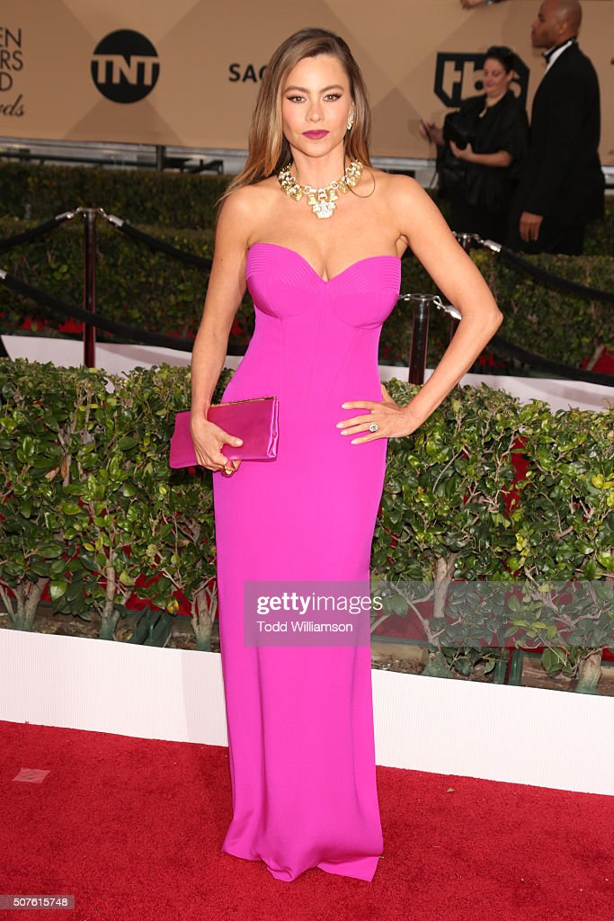 Actress Sofía Vergara attends the 22nd Annual Screen Actors Guild Awards at The Shrine Auditorium on January 30 2016 in Los Angeles California