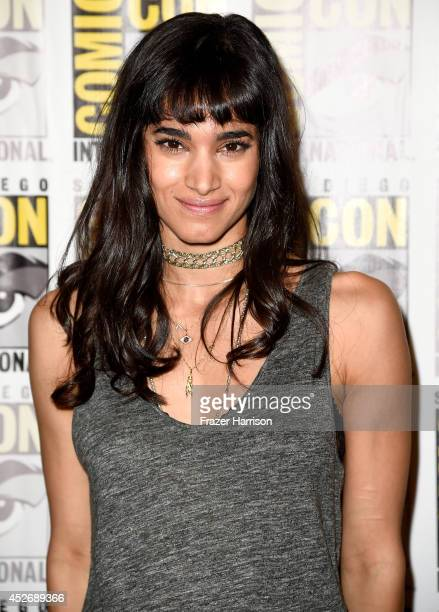 Actress Sofia Boutella attends 20th Century Fox Press Line during ComicCon International 2014 at Hilton Bayfront on July 25 2014 in San Diego...