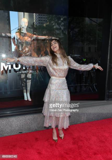 Actress Sofia Boutella attends Saks Fifth Avenue 'The Mummy' window display unveiling at Saks Fifth Avenue on June 7 2017 in New York City
