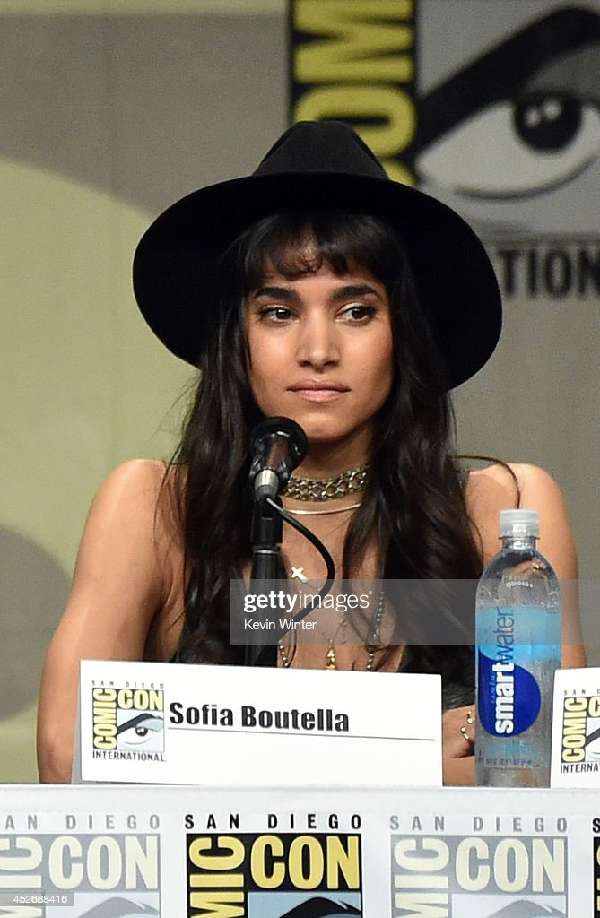 Actress Sofia Boutella attends the 20th Century Fox presentation during Comic-Con International 2014 at San Diego Convention Center on July 25, 2014 in San Diego, California.