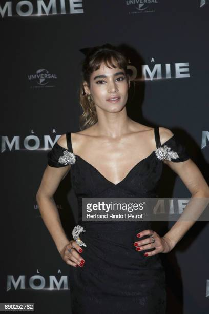 Actress Sofia Boutella attends 'The Mummy' Paris Premiere at Le Grand Rex on May 30 2017 in Paris France
