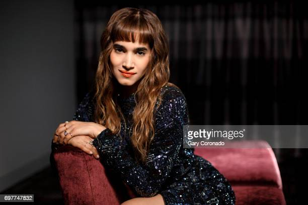 Actress Sofia Boutella is photographed for Los Angeles Times on May 20 2017 in Los Angeles California PUBLISHED IMAGE