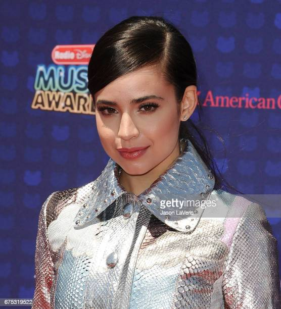 Actress Sofia Carson attends the 2017 Radio Disney Music Awards at Microsoft Theater on April 29 2017 in Los Angeles California