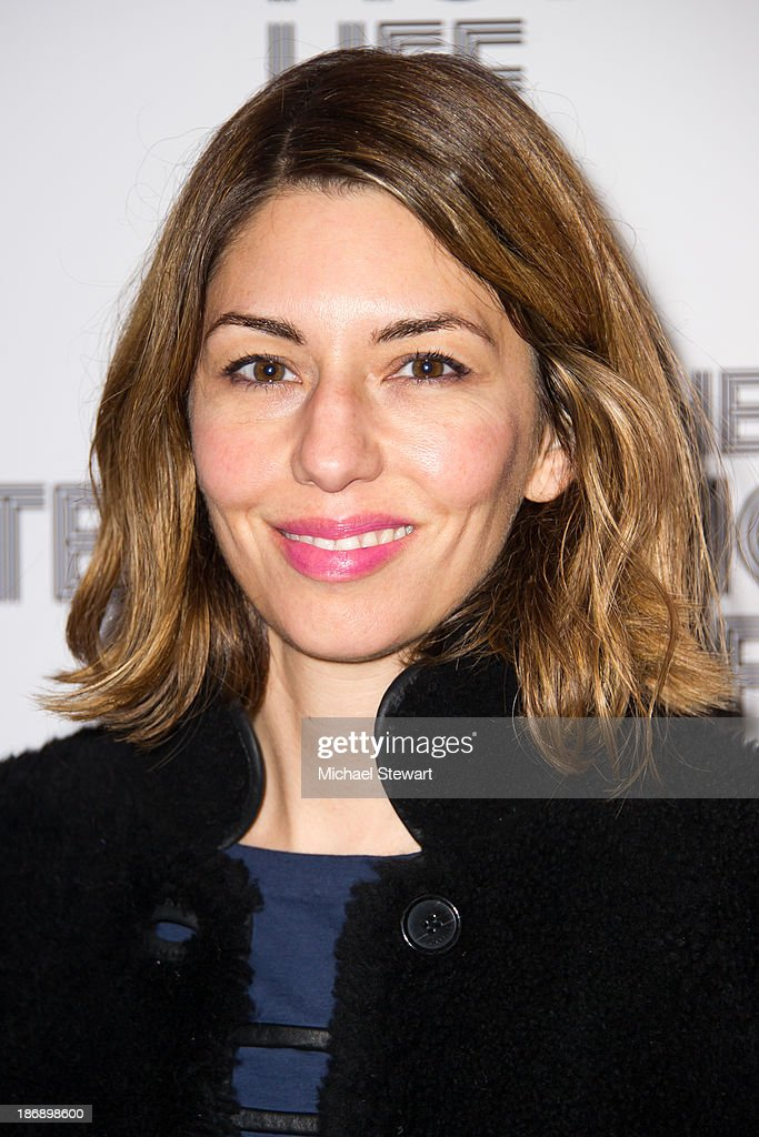 Actress Sofia Coppola attends the New York screening of 'The Motel Life' at Landmark's Sunshine Cinema on November 4, 2013 in New York City.