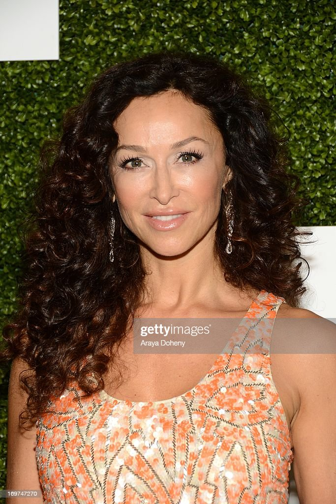 Actress <a gi-track='captionPersonalityLinkClicked' href=/galleries/search?phrase=Sofia+Milos&family=editorial&specificpeople=204487 ng-click='$event.stopPropagation()'>Sofia Milos</a> attends Step Up Women's Network 10th annual Inspiration Awards at The Beverly Hilton Hotel on May 31, 2013 in Beverly Hills, California.