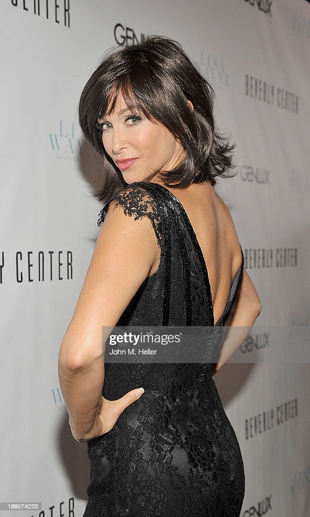 Actress <a gi-track='captionPersonalityLinkClicked' href=/galleries/search?phrase=Sofia+Milos&family=editorial&specificpeople=204487 ng-click='$event.stopPropagation()'>Sofia Milos</a> attends the GENLUX magazine Launch Event Party at The Beverly Center on November 14, 2013 in Los Angeles, California.