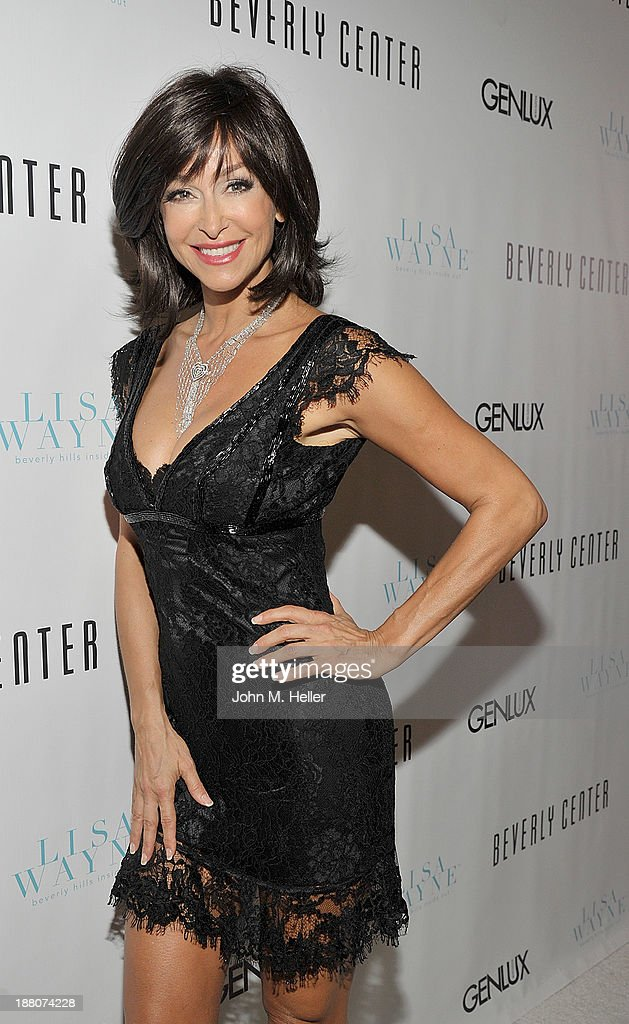 Actress Sofia Milos attends the GENLUX magazine Launch Event Party at The Beverly Center on November 14, 2013 in Los Angeles, California.