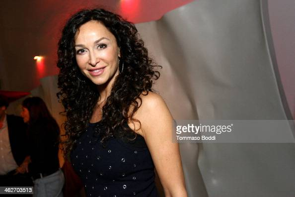 Actress Sofia Milos attends the 'Instructions Not Included' screening and reception on January 14 2014 in Los Angeles California