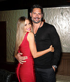 Actress Sofia Vergara and her fiance actor Joe Manganiello celebrate New Year's Eve at Planet Hollywood Resort Casino on December 31 2014 in Las...