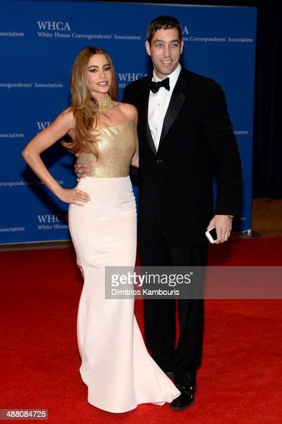 Actress Sofia Vergara and Nick Loeb attend the 100th Annual White House Correspondents' Association Dinner at the Washington Hilton on May 3 2014 in...