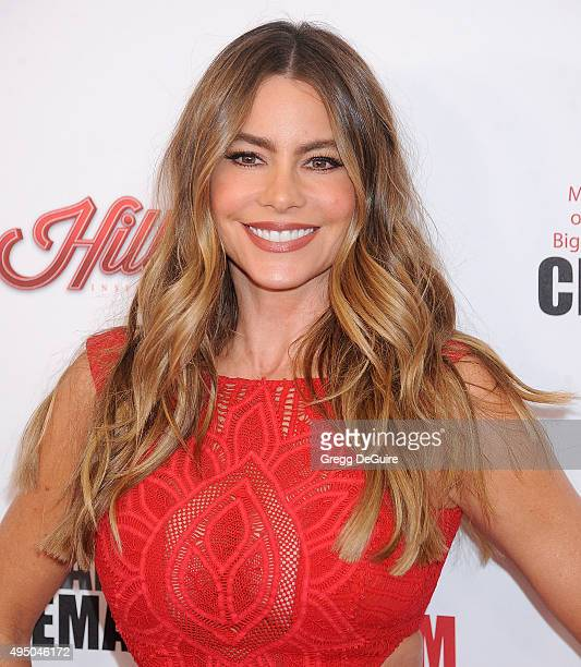 Actress Sofia Vergara arrives at the 29th American Cinematheque Award honoring Reese Witherspoon at the Hyatt Regency Century Plaza on October 30...
