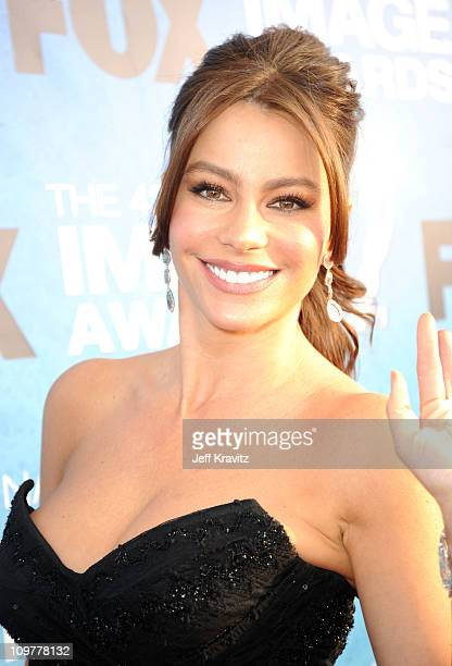 Actress Sofia Vergara arrives at the 42nd Annual NAACP Image Awards held at The Shrine Auditorium on March 4 2011 in Los Angeles California