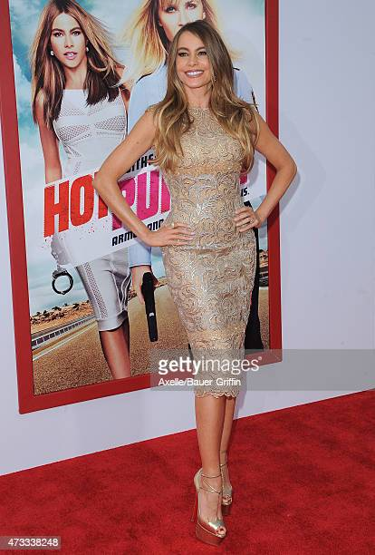 Actress Sofia Vergara arrives at the Los Angeles premiere of 'Hot Pursuit' at TCL Chinese Theatre IMAX on April 30 2015 in Hollywood California