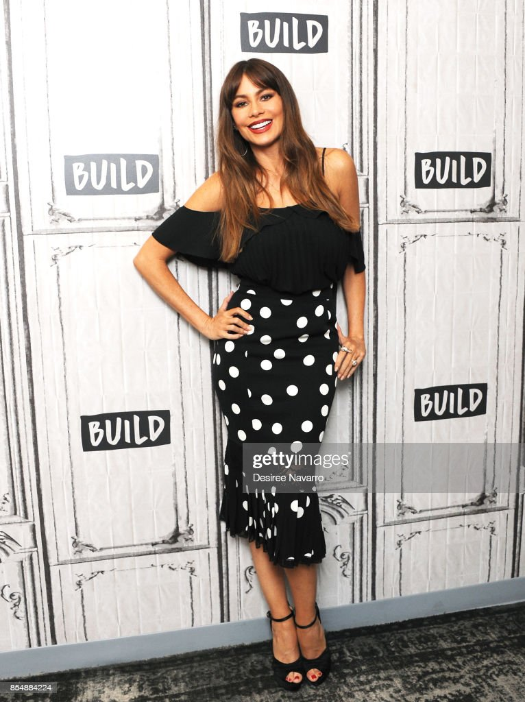 Actress Sofia Vergara attends Build to discuss The EBY Lingerie Line at Build Studio on September 27, 2017 in New York City.