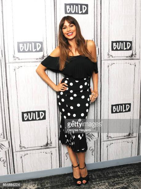 Actress Sofia Vergara attends Build to discuss The EBY Lingerie Line at Build Studio on September 27 2017 in New York City