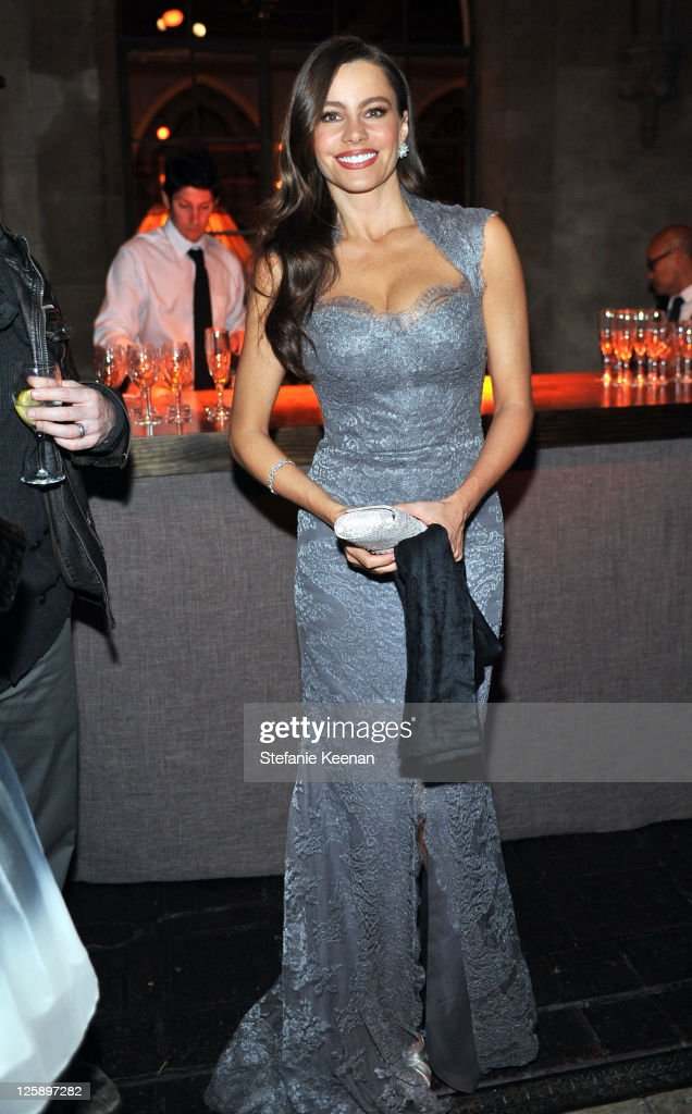 Actress Sofia Vergara attends Entertainment Weekly's celebration honoring the 17th Annual Screen Actors Guild Awards nominees hosted by Jess Cagle...