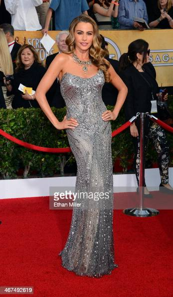 Actress Sofia Vergara attends the 20th Annual Screen Actors Guild Awards at The Shrine Auditorium on January 18 2014 in Los Angeles California