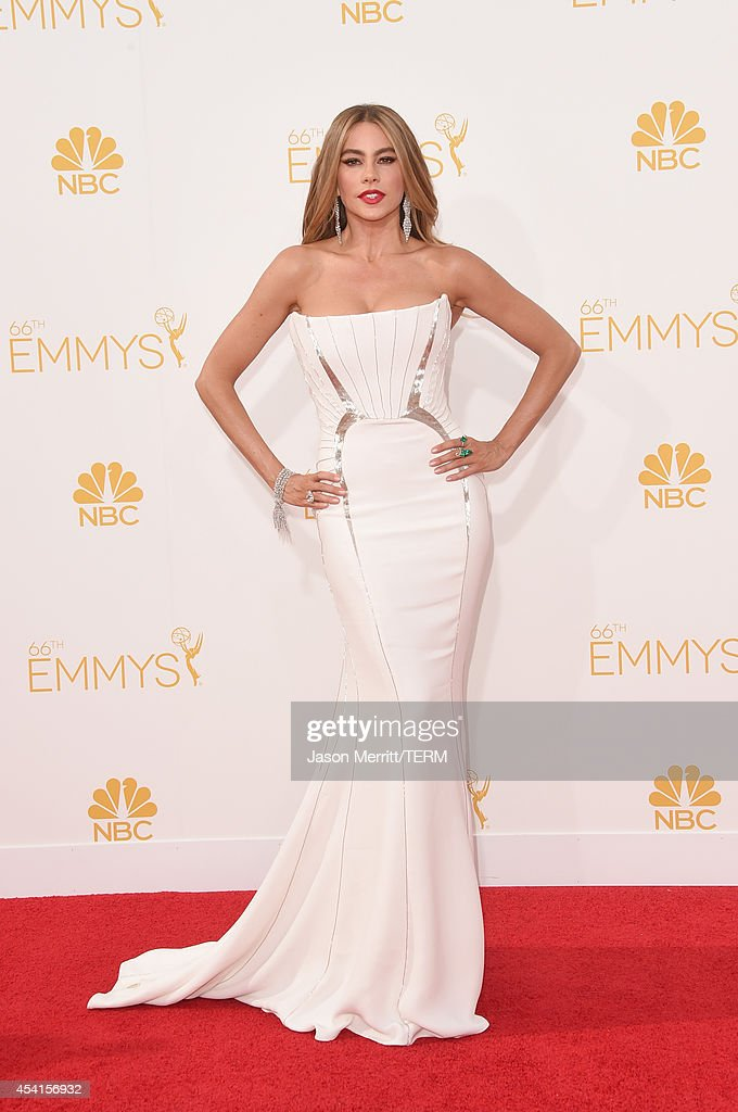 Actress Sofia Vergara attends the 66th Annual Primetime Emmy Awards held at Nokia Theatre LA Live on August 25 2014 in Los Angeles California