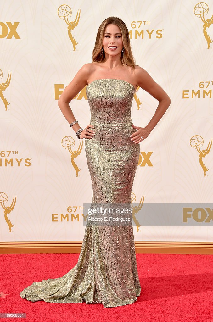 Actress Sofia Vergara attends the 67th Emmy Awards at Microsoft Theater on September 20 2015 in Los Angeles California 25720_001