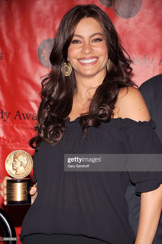 Actress Sofia Vergara attends the 69th Annual Peabody Awards at The Waldorf=Astoria on May 17 2010 in New York City
