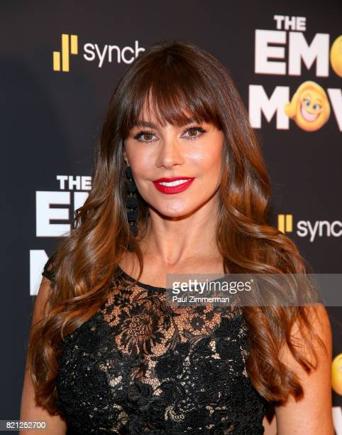 Actress Sofia Vergara attends 'The Emoji Movie' Special Screening at NYIT Auditorium on Broadway on July 23 2017 in New York City